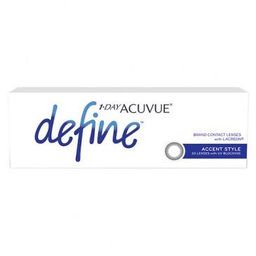 New: Acuvue 1-Day Define Lenses