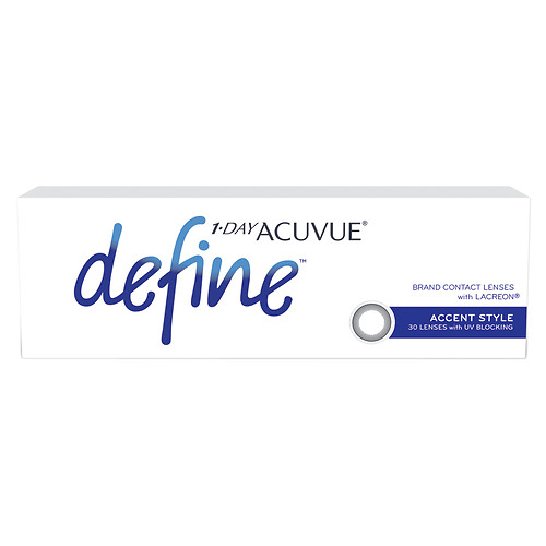 New: Acuvue 1-Day Define Lenses