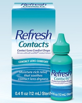 Refresh Contacts eye drops