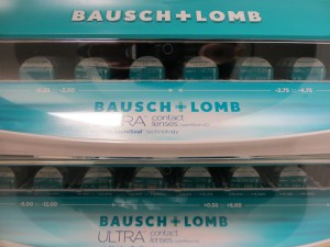 Bausch & Lomb Ultra Contacts