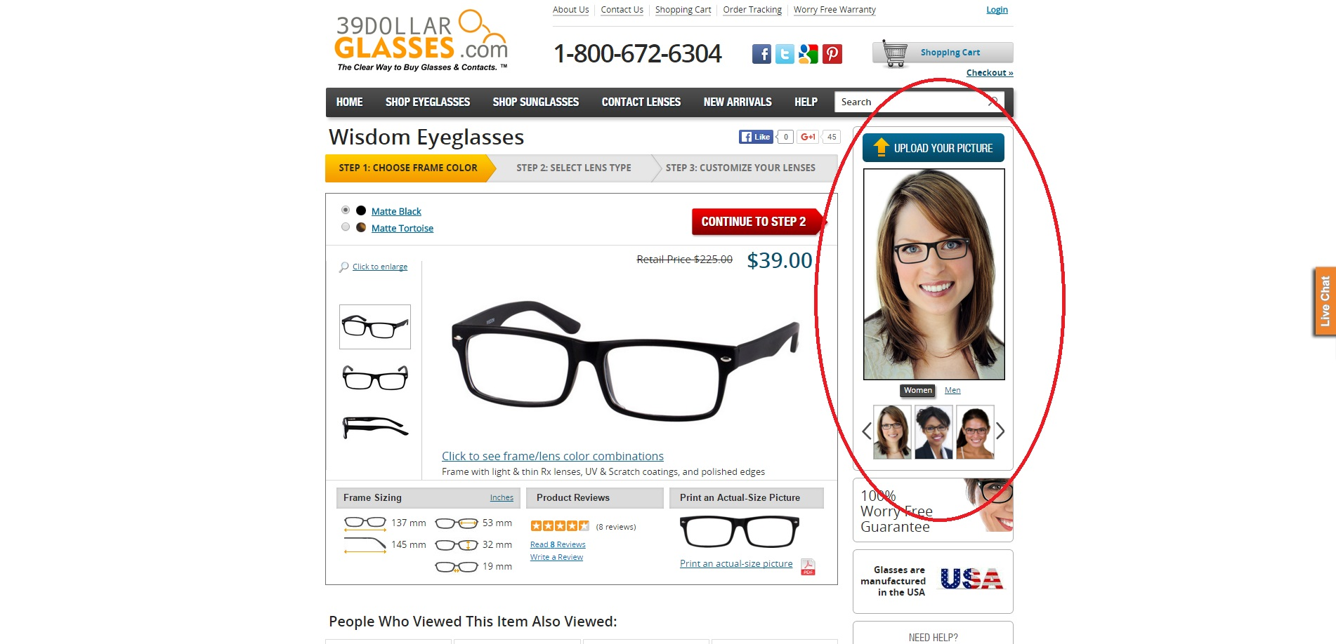 df8b280e893 The other helpful tool that 39dollarglasses.com offers for every pair of  frames they sell is the Snapshot Review. You can easily tell what the pros  and cons ...
