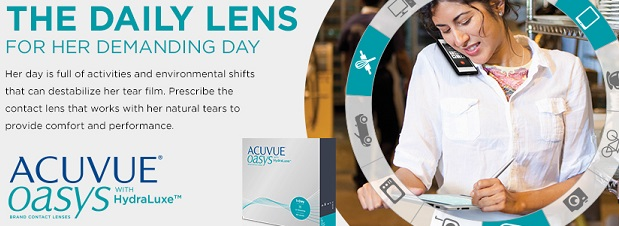 Acuvue Oasys 1-Day For Demanding Days