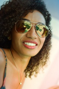 Girl With Tan Skin