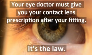The Contact Lens Rule
