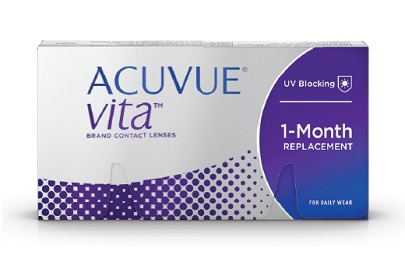 Acuvue Vita Review – Johnson & Johnson's 1st Monthly Lens