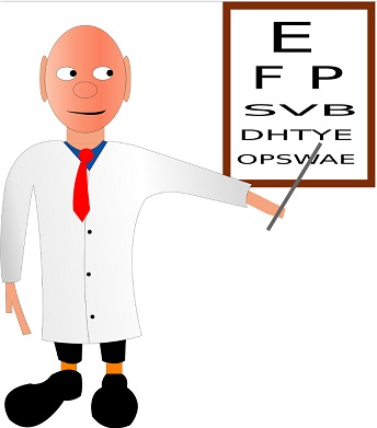 Eye Doctor Converting glasses prescription to contact lenses