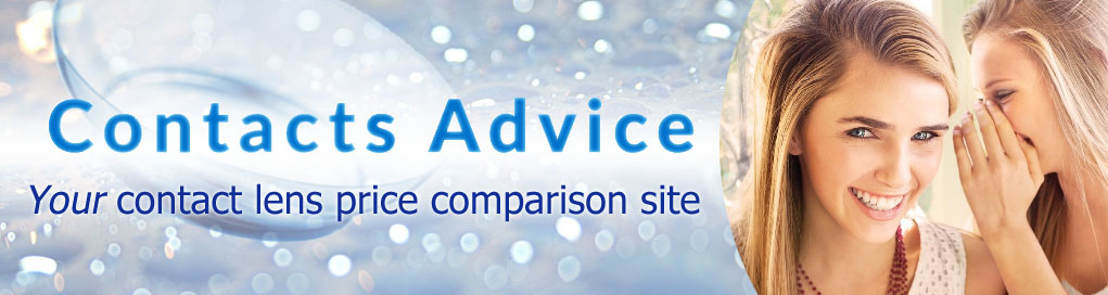 Contacts Advice Contact Lens Price Comparison Banner1