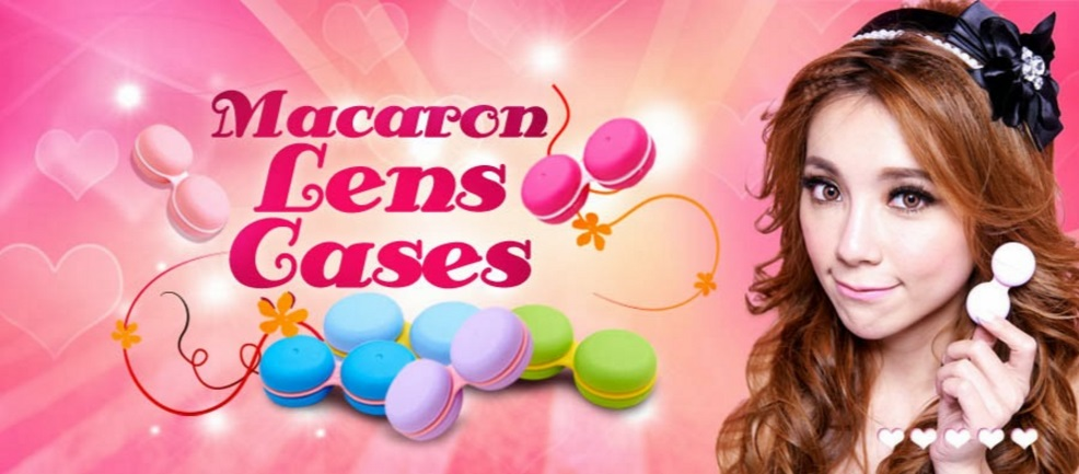 toric color contact lenses for astigmatism - Macaron Lens Case