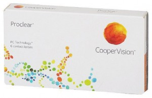 Cheap Monthly Contact Lenses - Proclear Compatilbles box at Lens