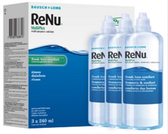 Cheap Monthly Contact Lenses - Renu Multipack