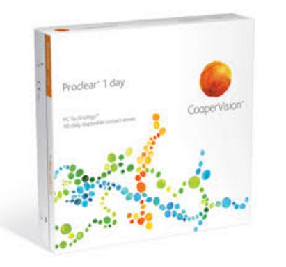 Proclear 1 day contact lenses 90 pack