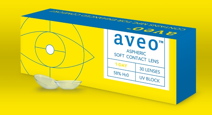 Aveo Contact Lenses 1 Day Box