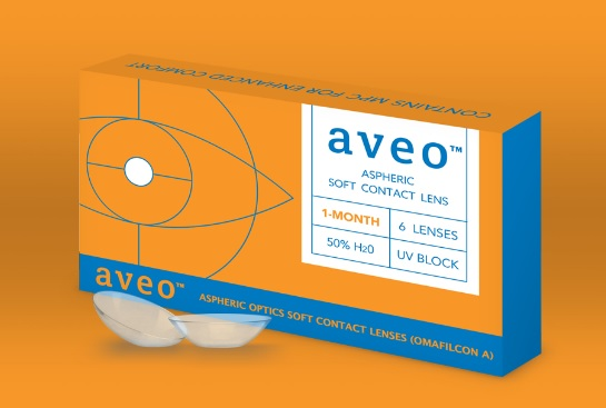 Aveo Contact Lenses 1 Month Box