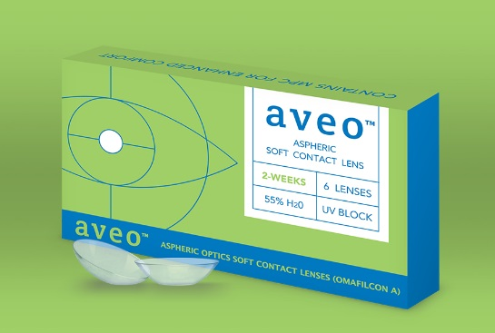 Aveo Contact Lenses 2 Week Box