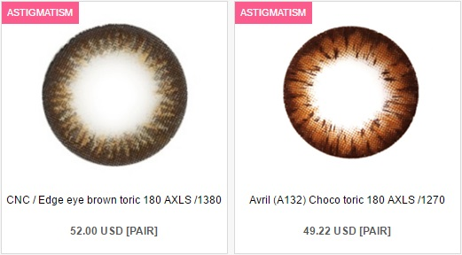 The Problem With Color Contact Lenses For Astigmatism From QueenContacts - Choco Color Contact Lenses