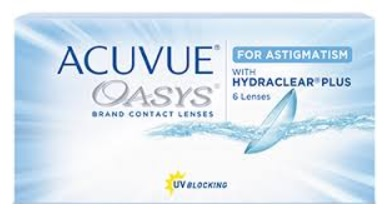 Acuvue Oasys Astigmatism Price Comparison - Acuvue Oasys Astigmatism box