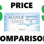 Acuvue Oasys Astigmatism Price Comparison – Compare 19 Sites in Seconds!