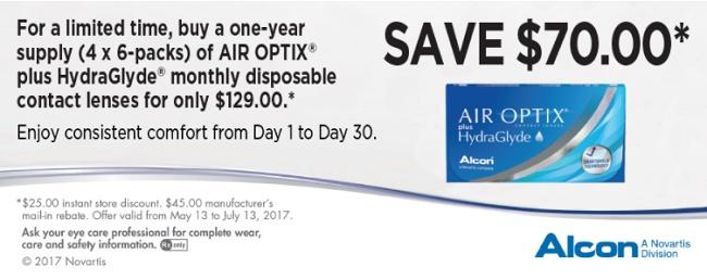 Are Rebates For Contact Lenses A Scam - Alcon Air Optix Rebate