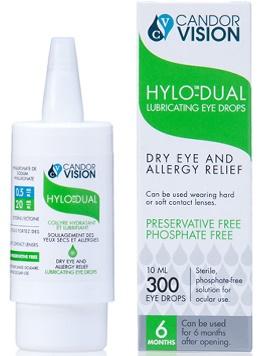 Hylo eye drops - HYLO DUAL