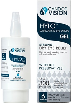 Hylo eye drops - HYLO GEL