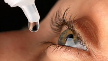 Hylo eye drops - using eye drops