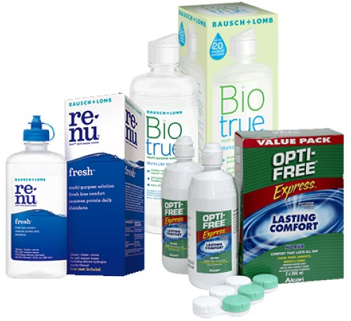 travel size contact lens solution - contact lens solution bottles