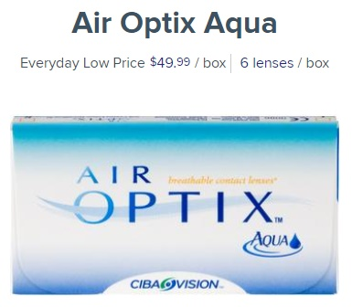 Air Optix Aqua at 1800contacts