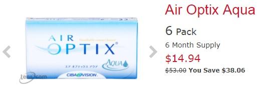 Air Optix Aqua at Lens