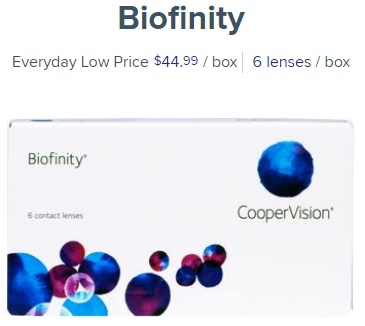 Biofinity at 1800contacts