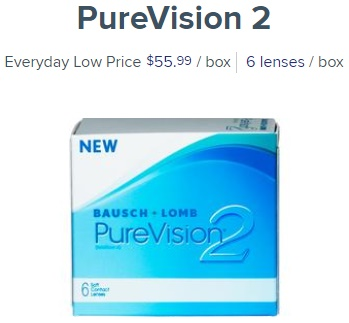 PureVision2 at 1800contacts