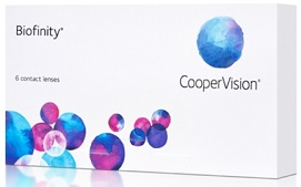 extended wear contact lenses brands - Biofinity
