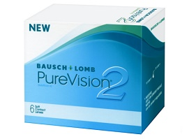 extended wear contact lenses brands - PureVision2