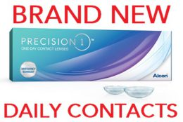 REVIEW of Alcon NEW PRECISION 1 Contact Lenses